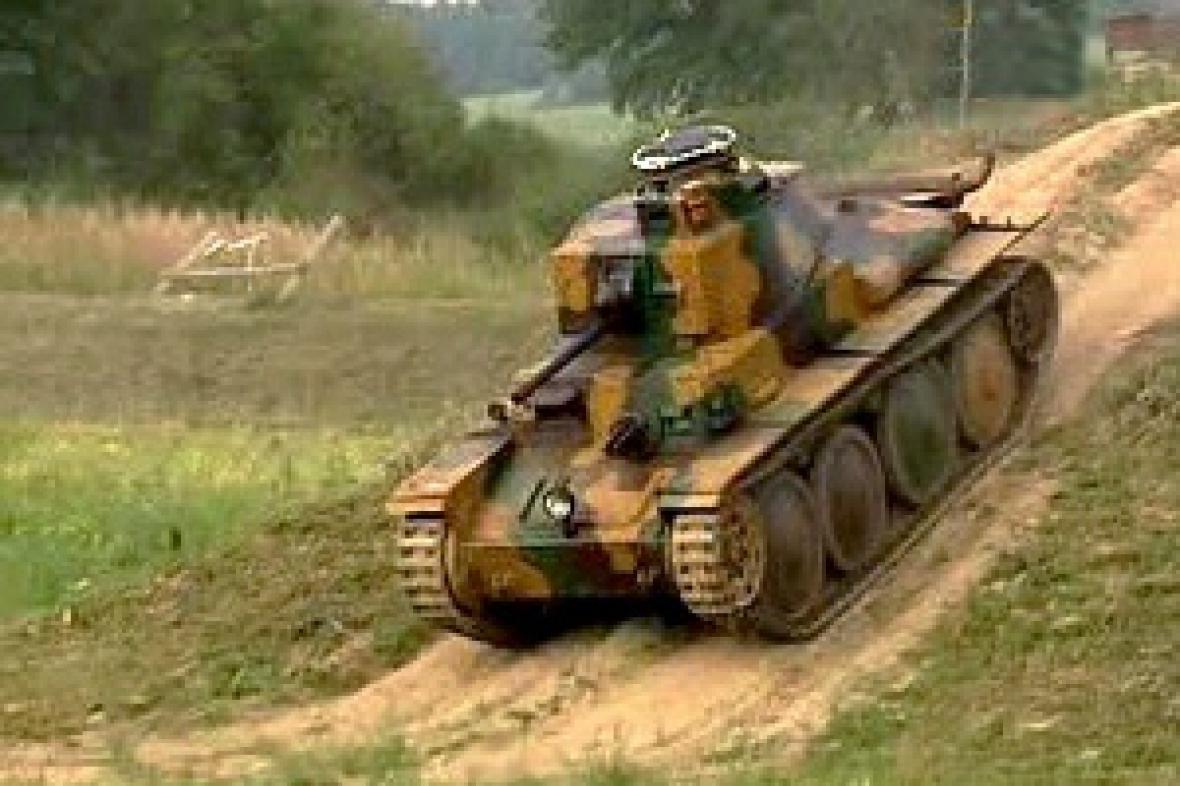 Českonslovenský tank vzor 38