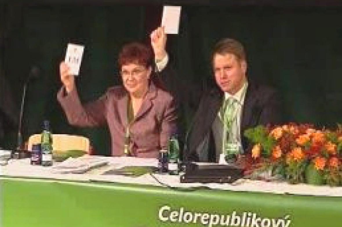 Dana Kuchtová a Martin Bursík