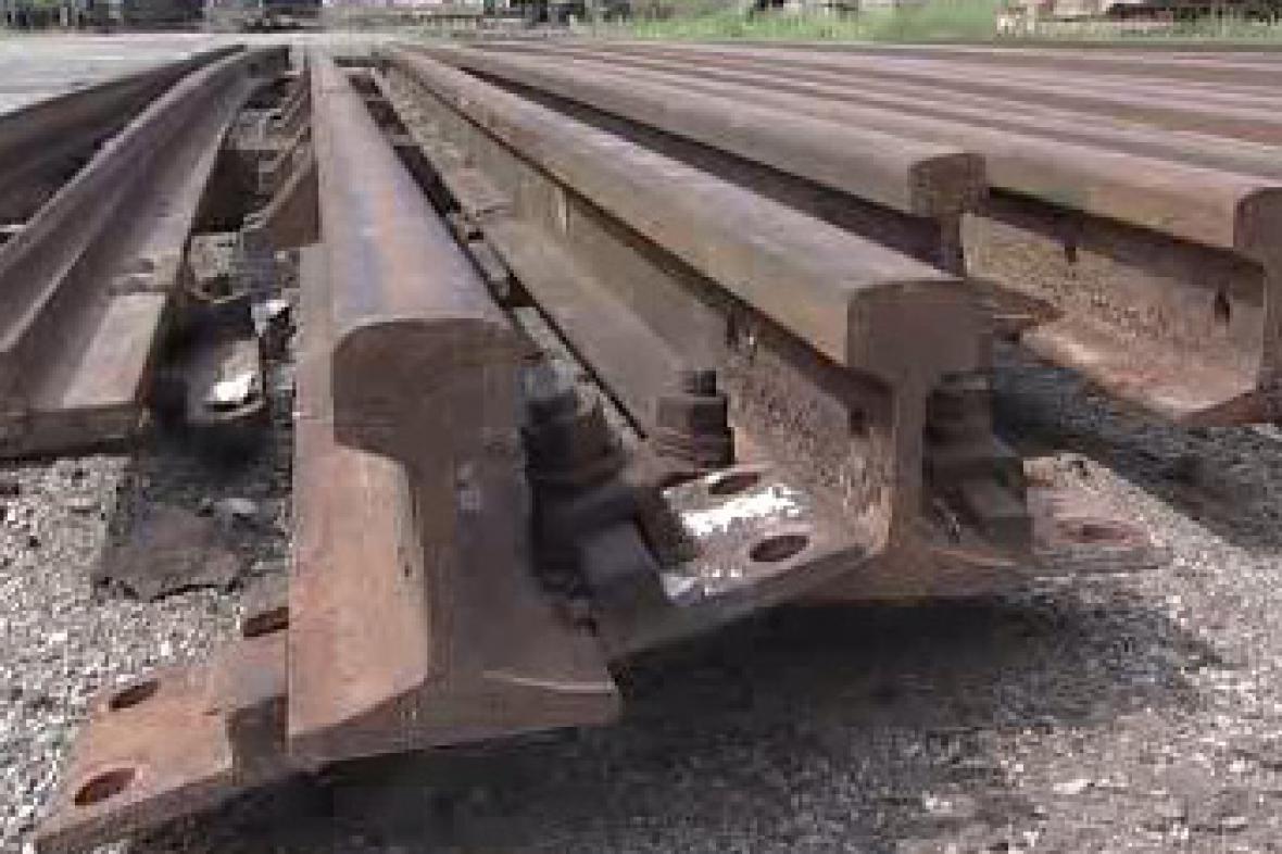 Železniční koleje
