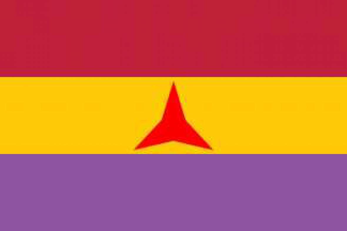 Vlajka Mezinárodních brigád