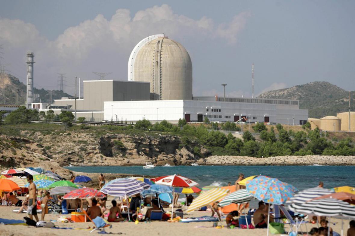 Jaderná elektrárna ve Španělsku