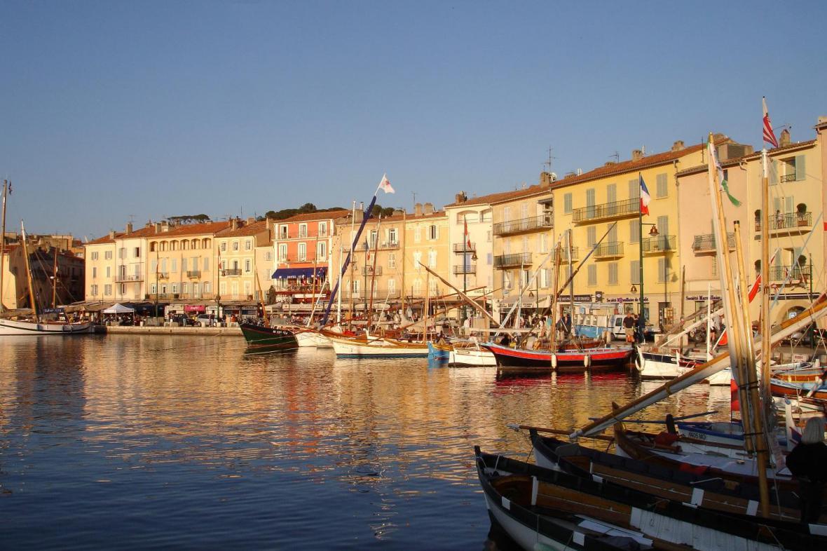 Přístav Saint-Tropez