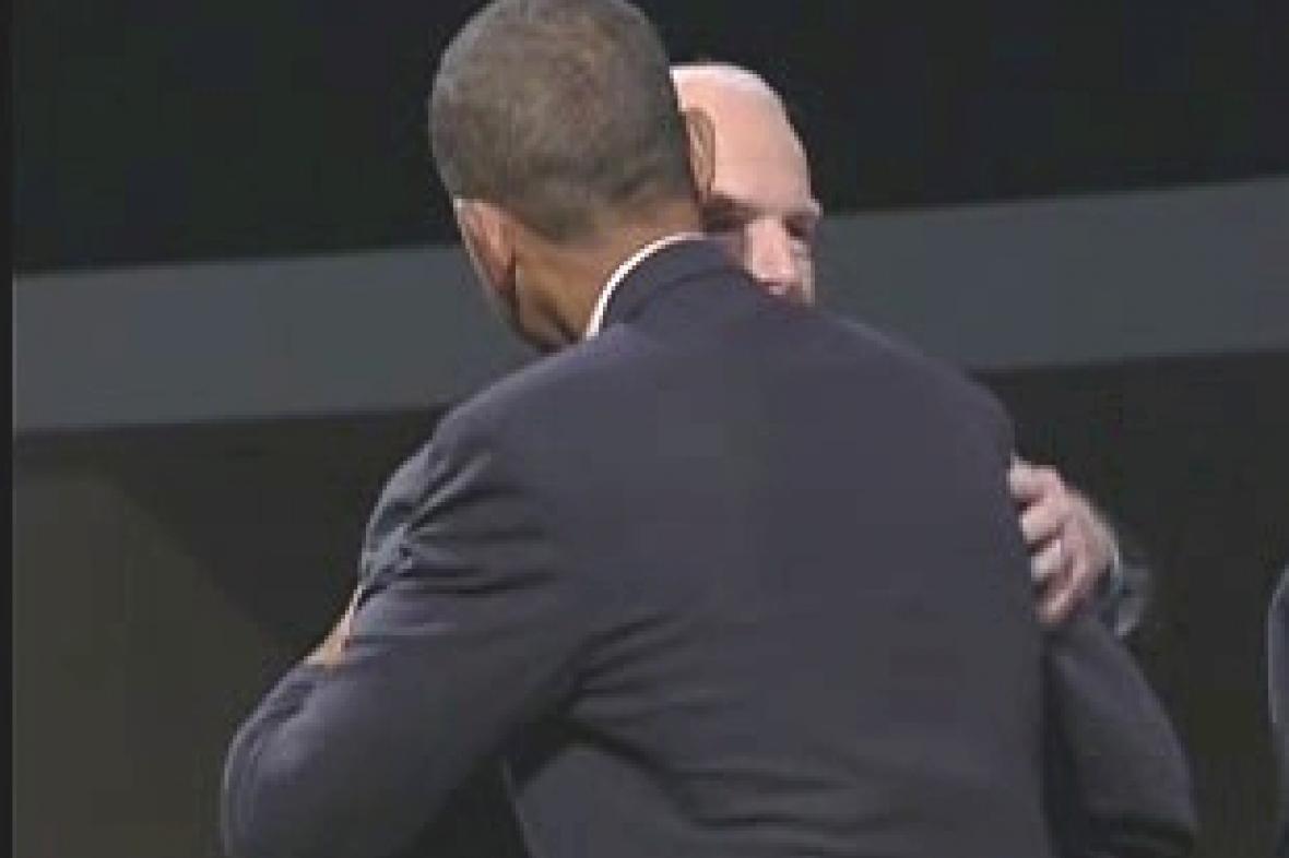 Objetí Baracka Obamy a Johna McCaina