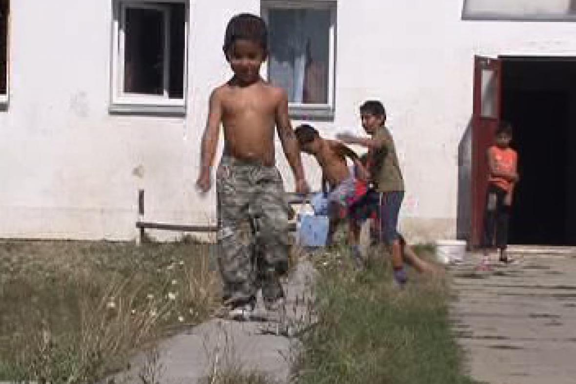 Děti v ghettu
