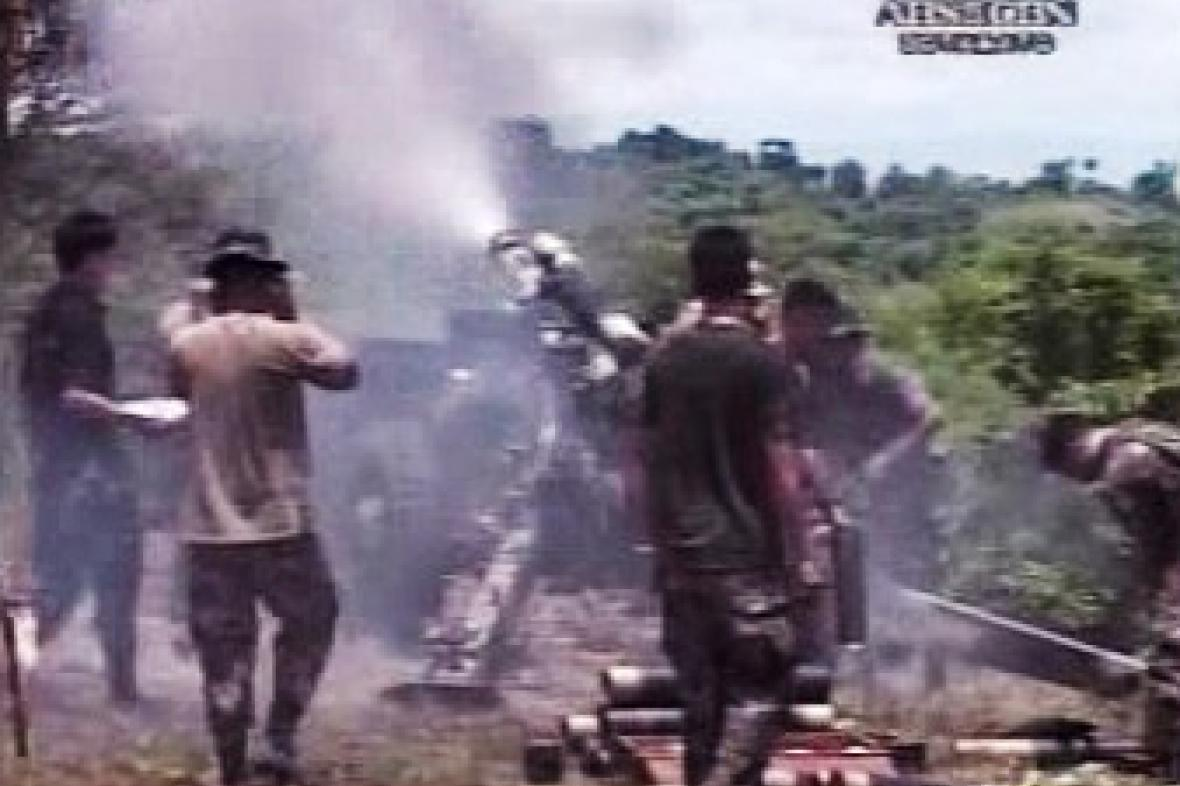 Boje na Filipínách
