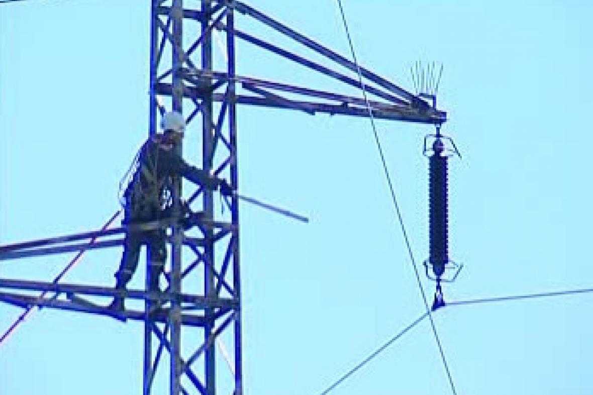 Oprava elektrického vedení