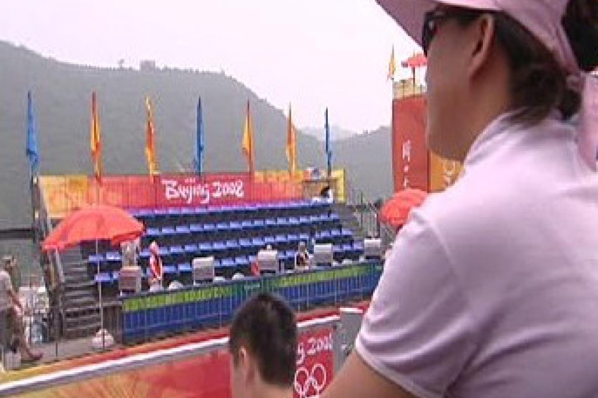 Hlediště na olympiádě