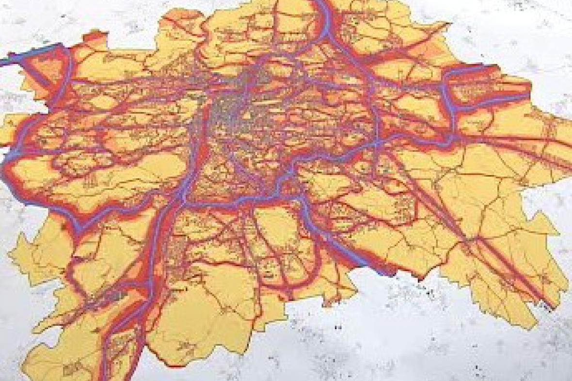 Návrh protihlukového plánu Prahy