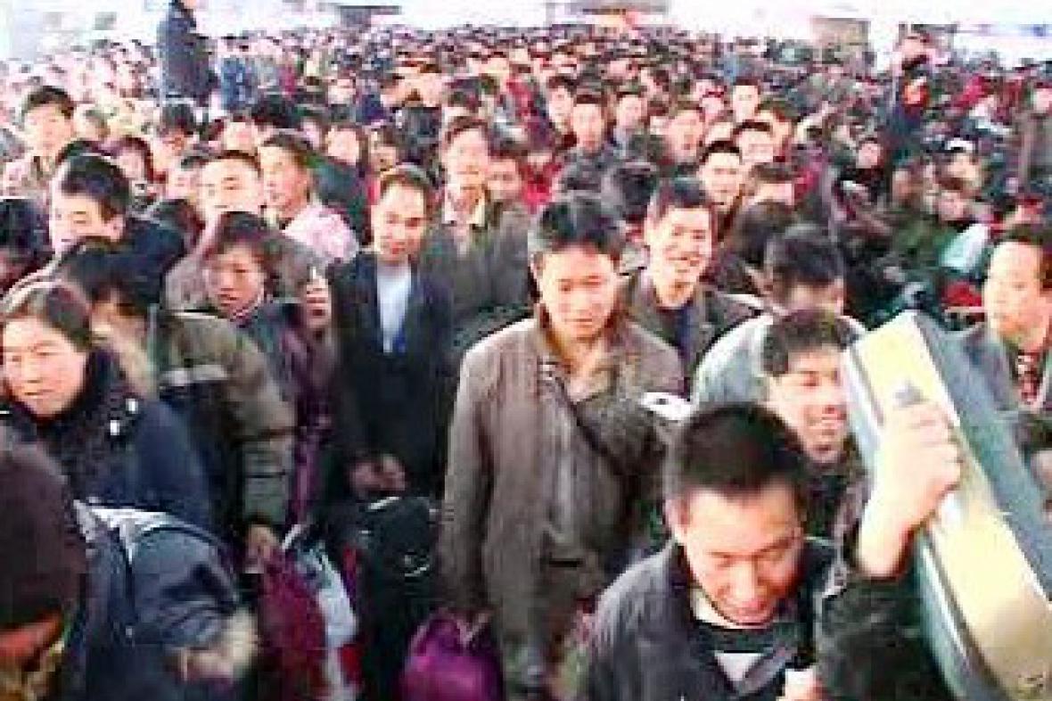 Čína je nejlidnatější zemí světa