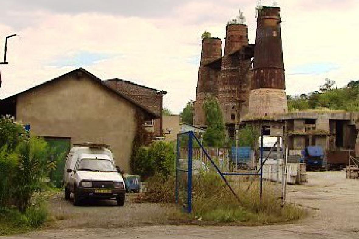 Areál bývalé huti Koněv