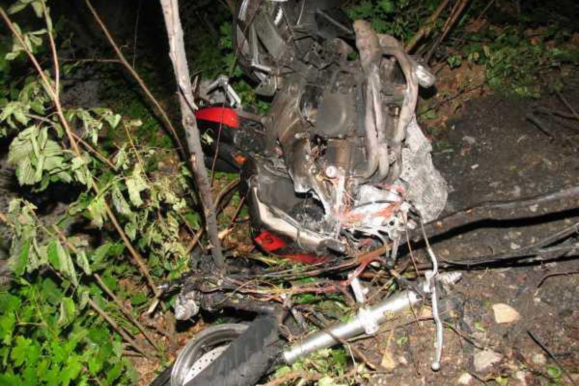 Tragická nehoda motorkáře