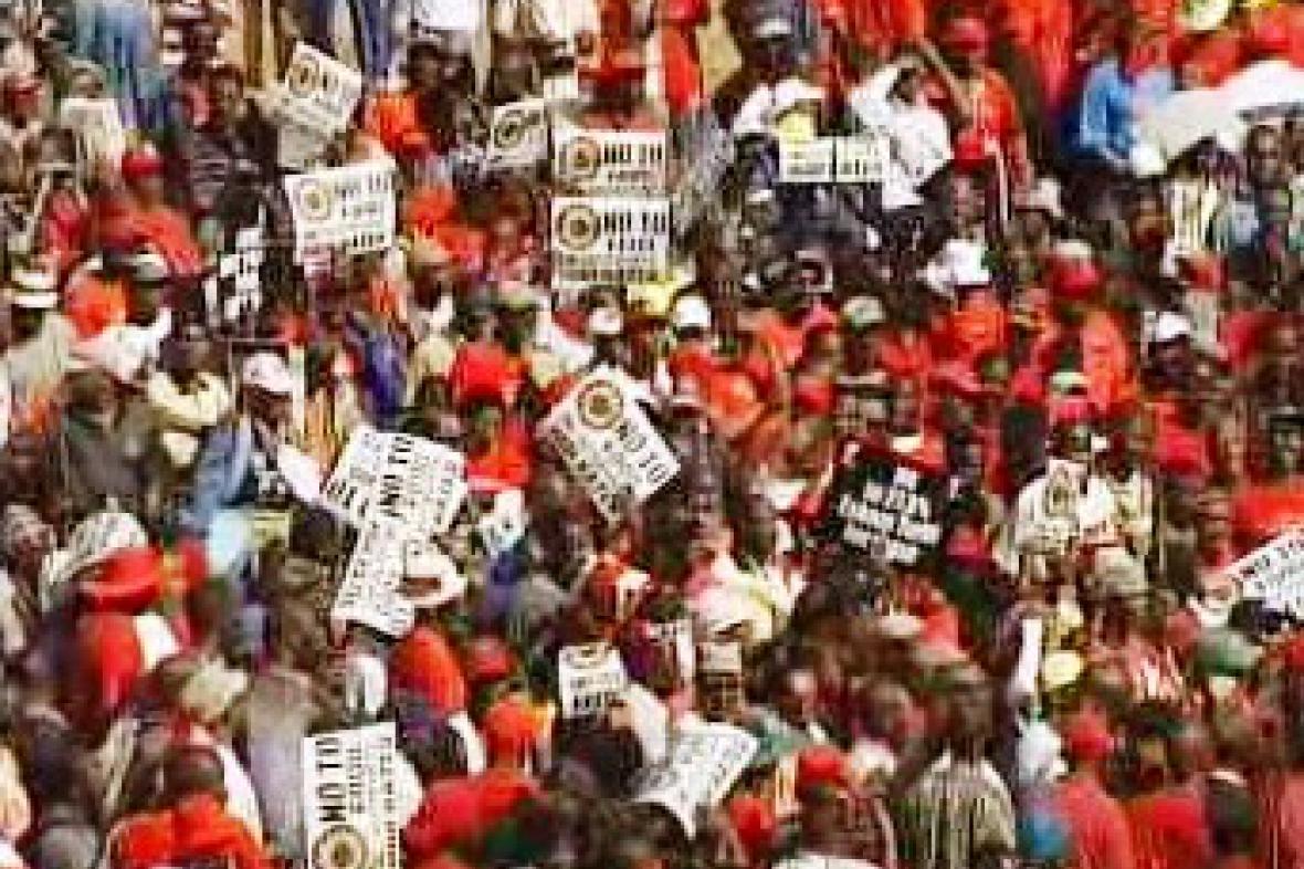 Stávka v JAR