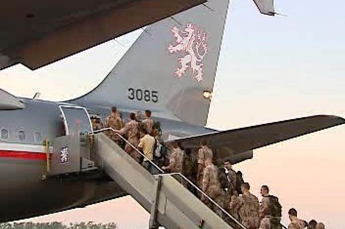 Odlet českých vojáků