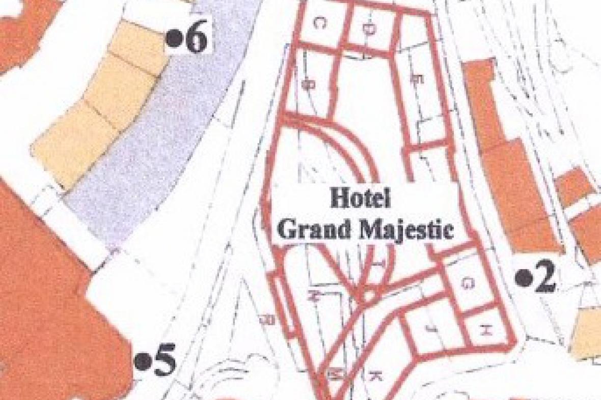 Stavební plán hotelu Grand Majestic