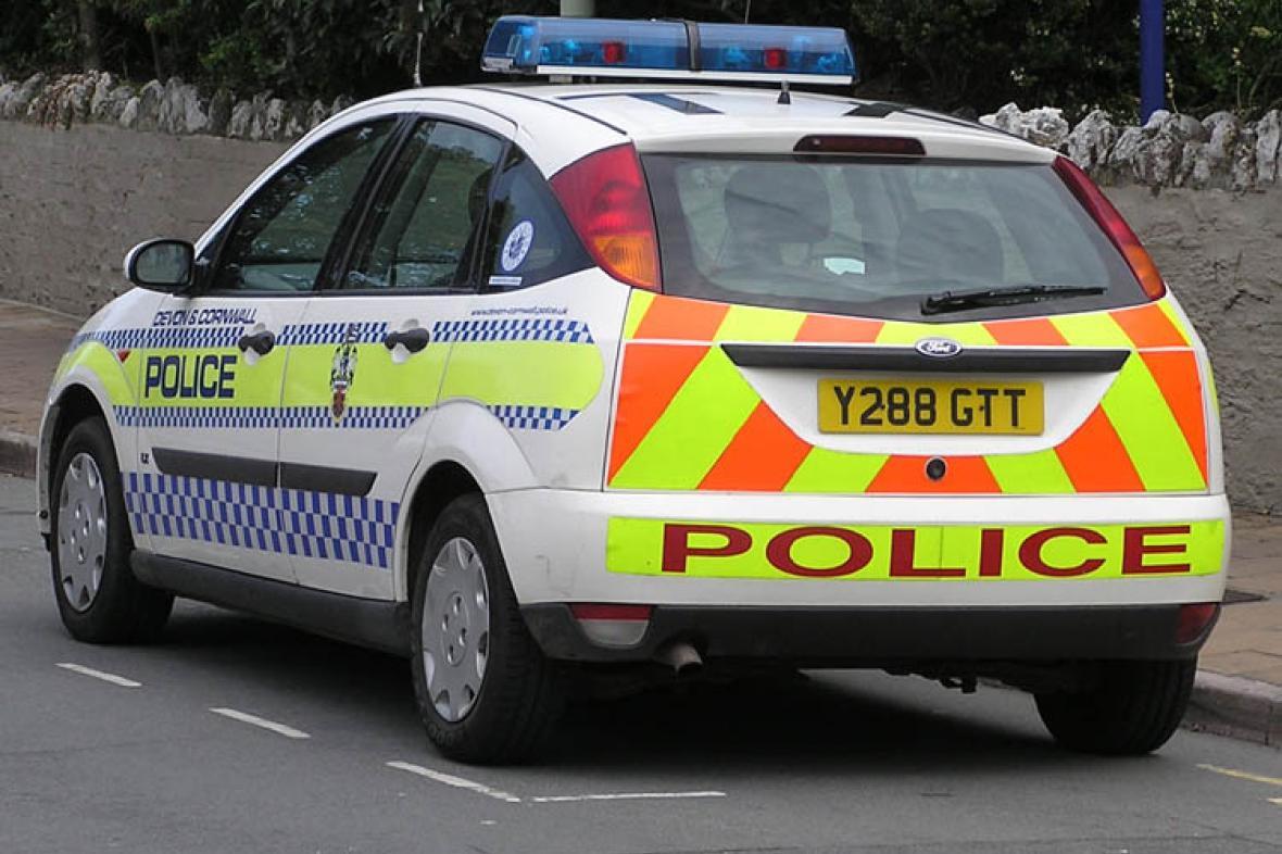 Auto britské policie