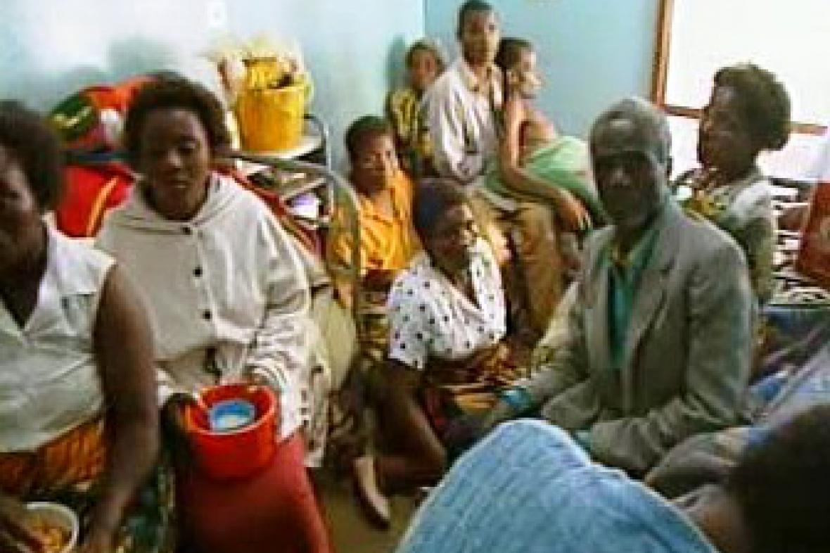 Nemocní v Africe