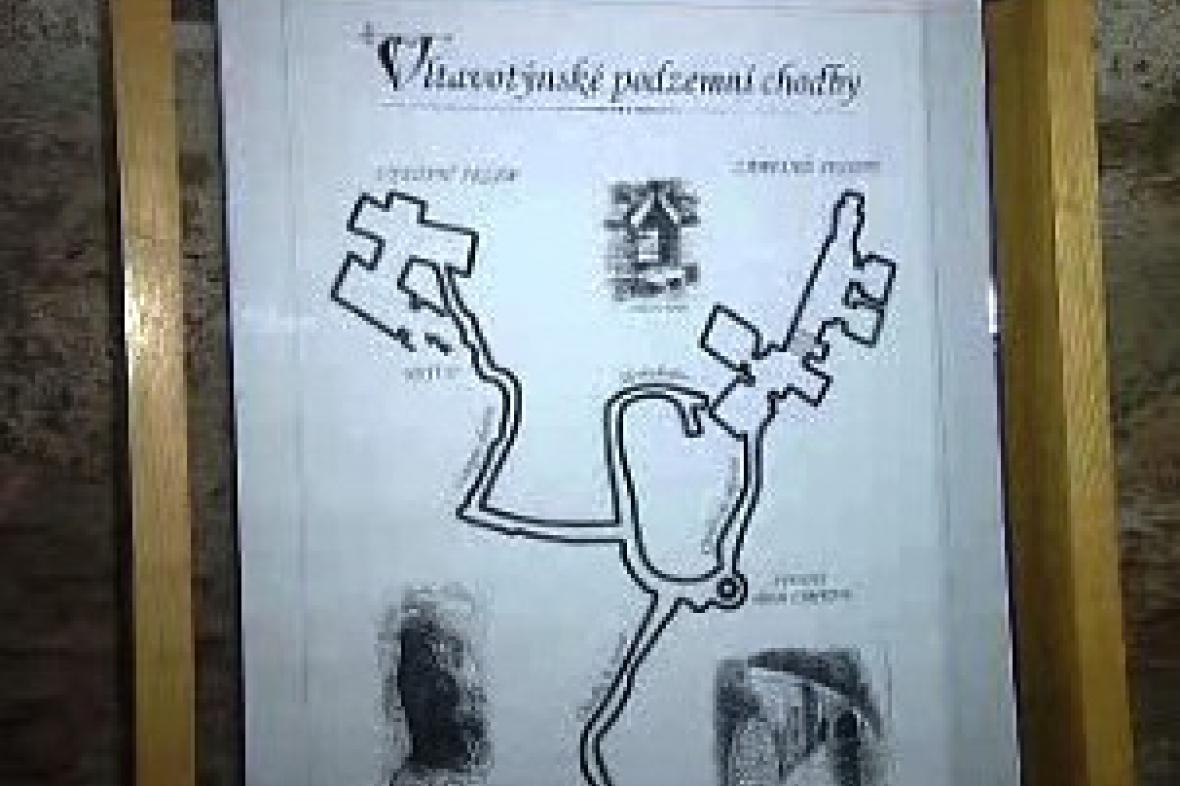 Podzemí Týnu nad Vltavou poprvé pro veřejnost