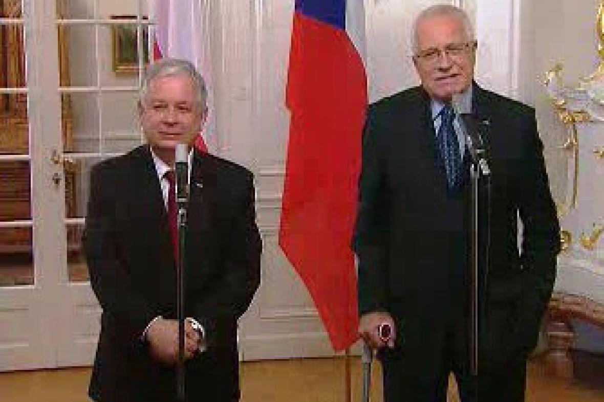 Jednání polského prezidenta na Lánech