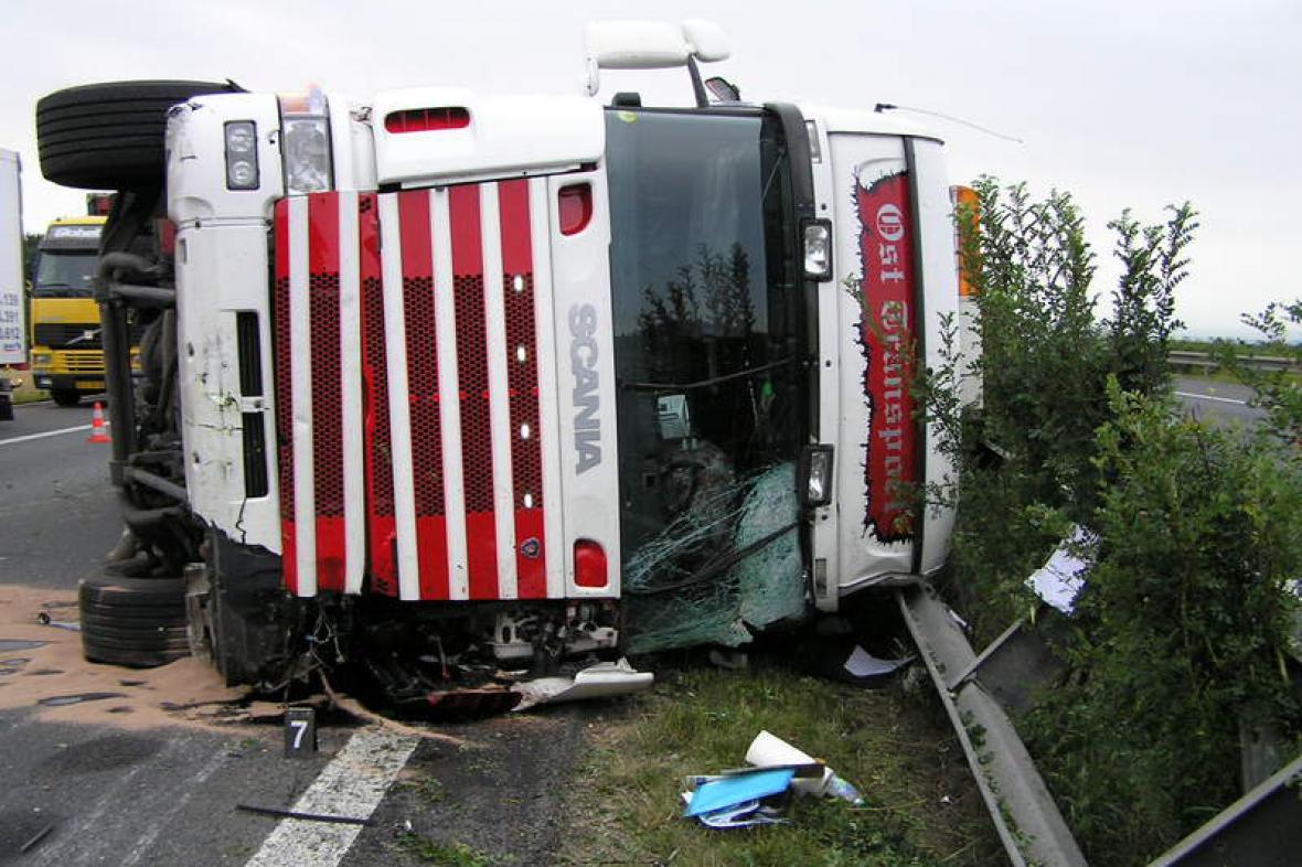 Tragická nehoda kamionu