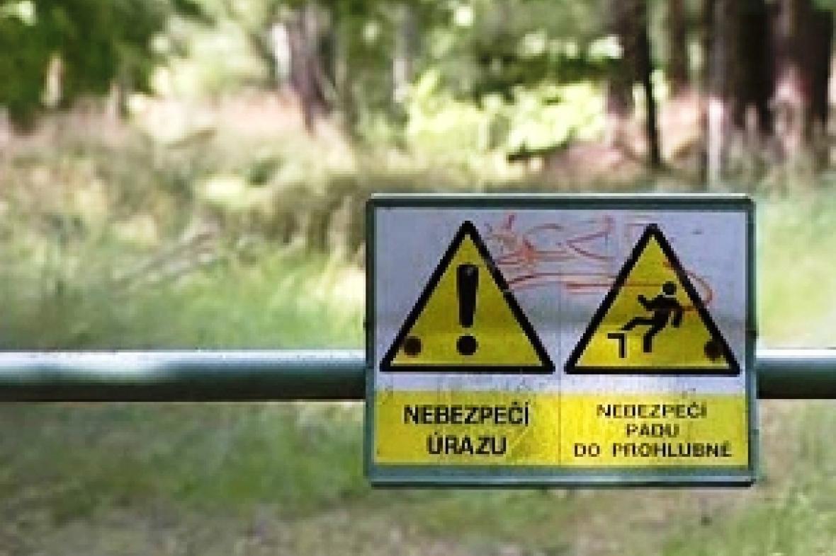 Jedovatá jezírka ohrožují obce na Plzeňsku