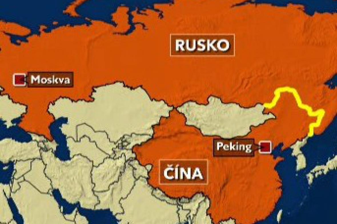 Hranice mezi Čínou a Ruskem