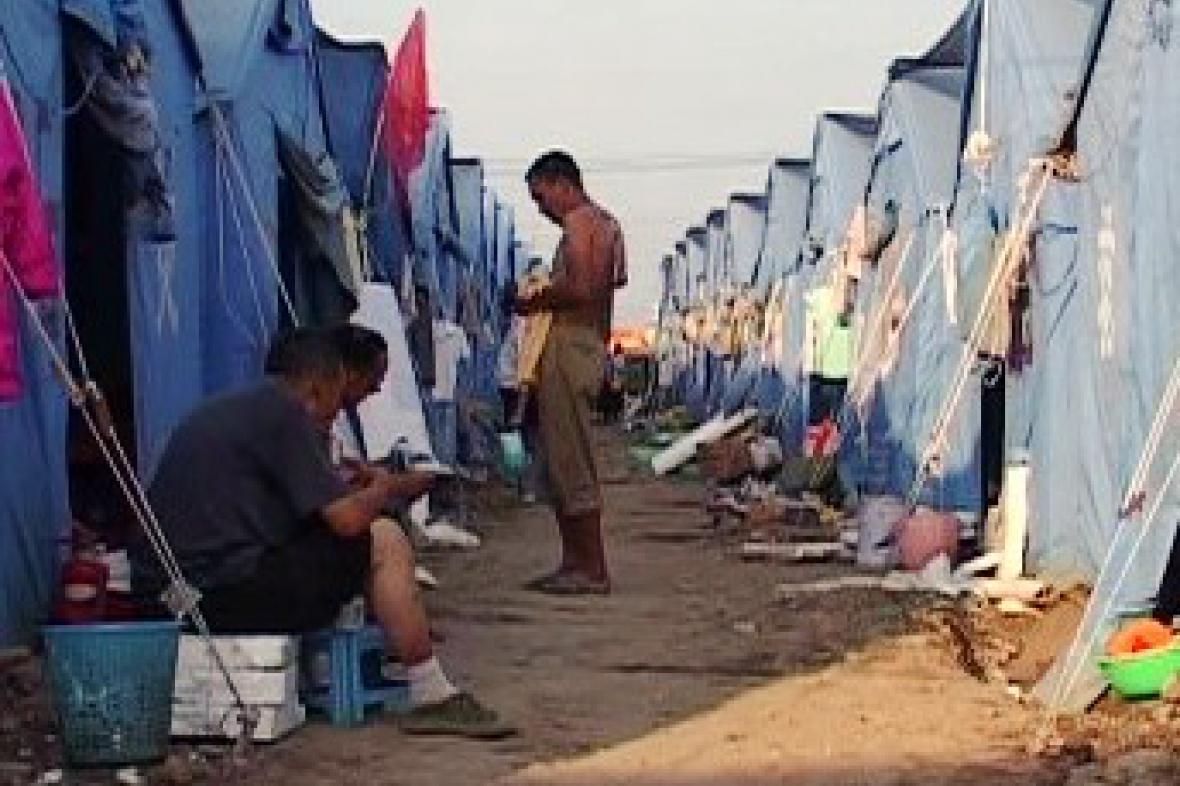 Stanová osada pro oběti zemětřesení