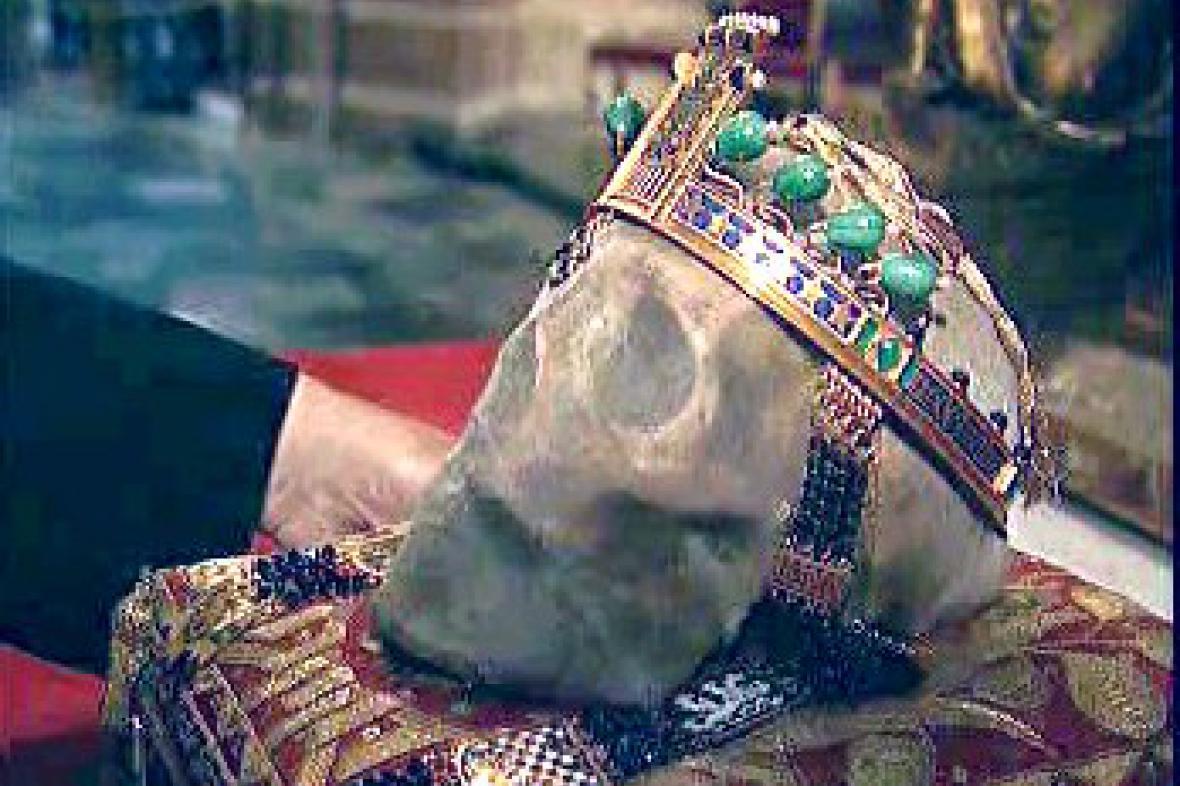 Lebka sv. Václava