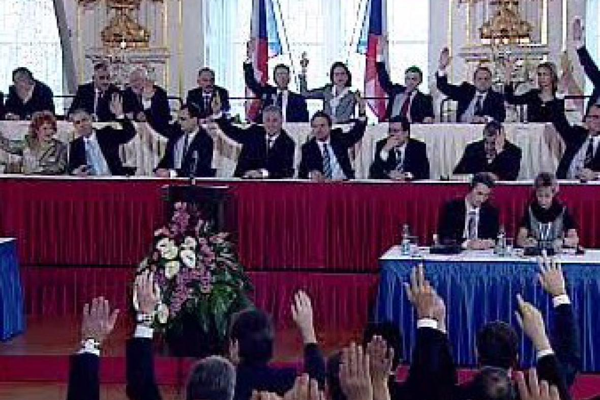 Hlasování před volbou prezidenta
