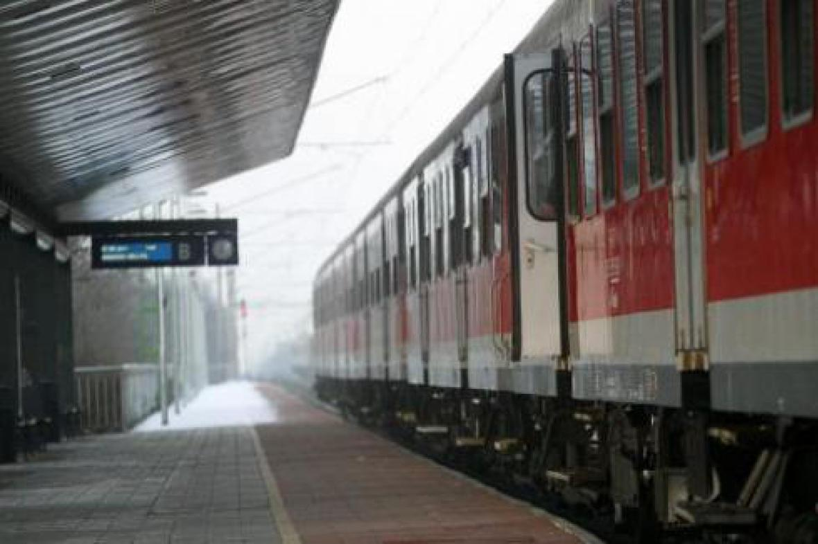 Stávka železničářů