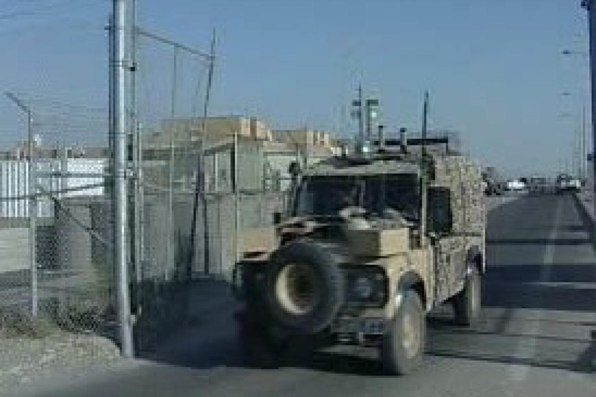 Čeští vojáci v Iráku