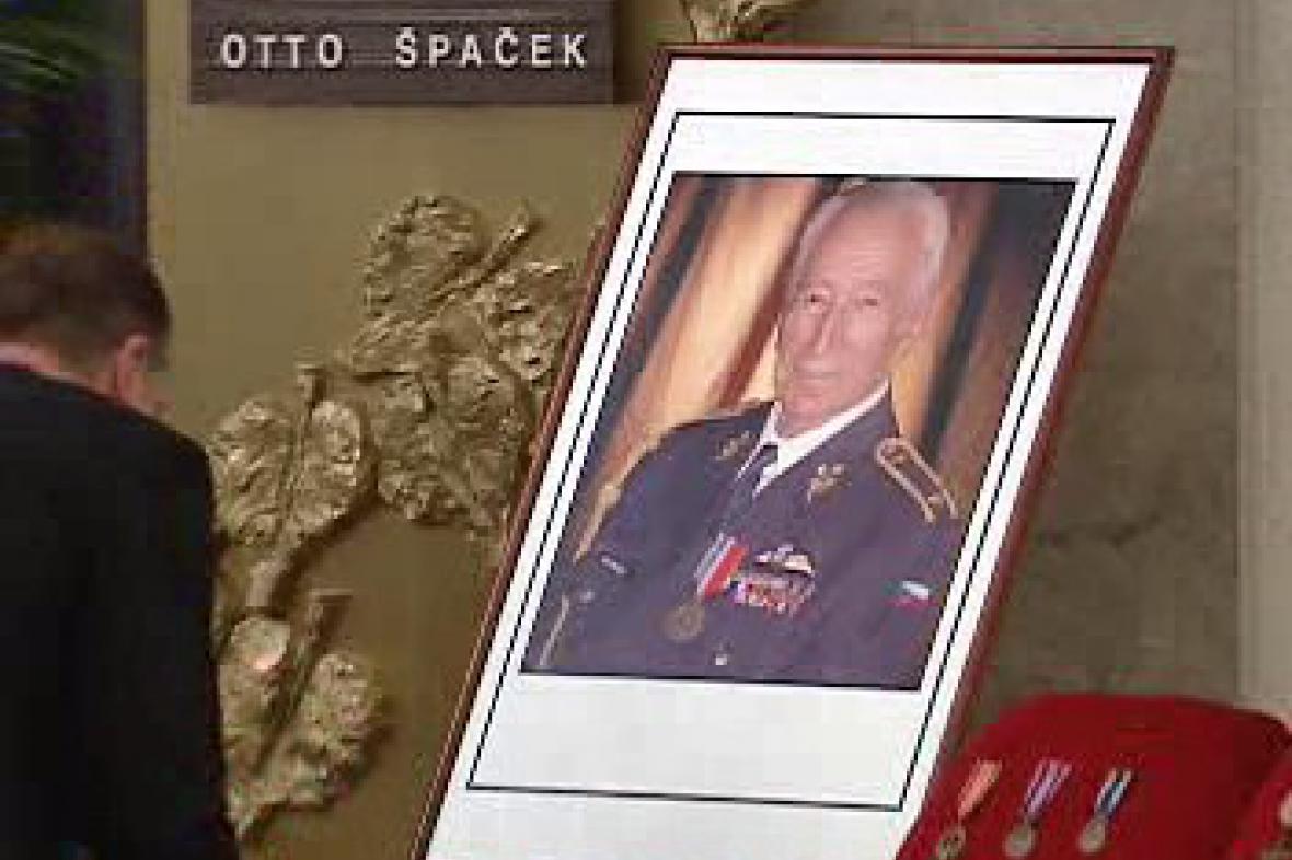 Pohřeb generála Otty Špačka