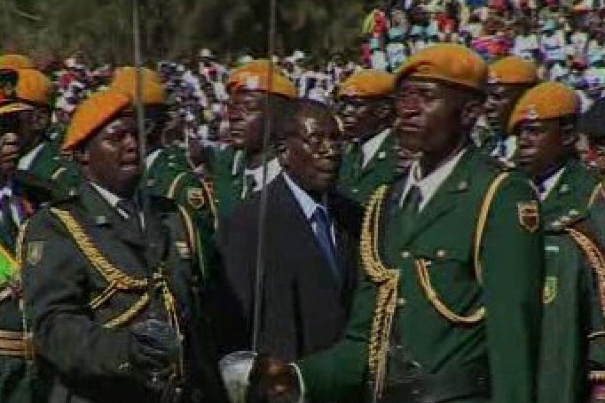Zimbabwský prezident Robert Mugabe