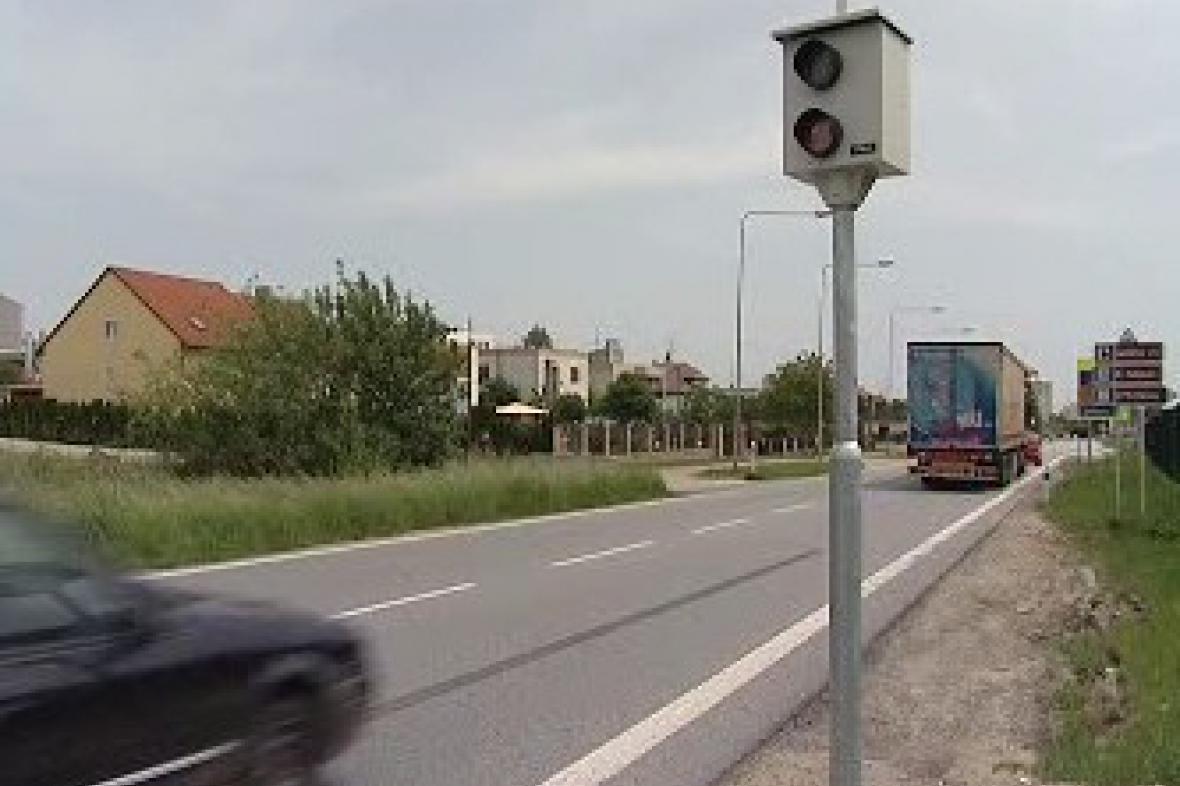 Radar u Moravských Budějovic