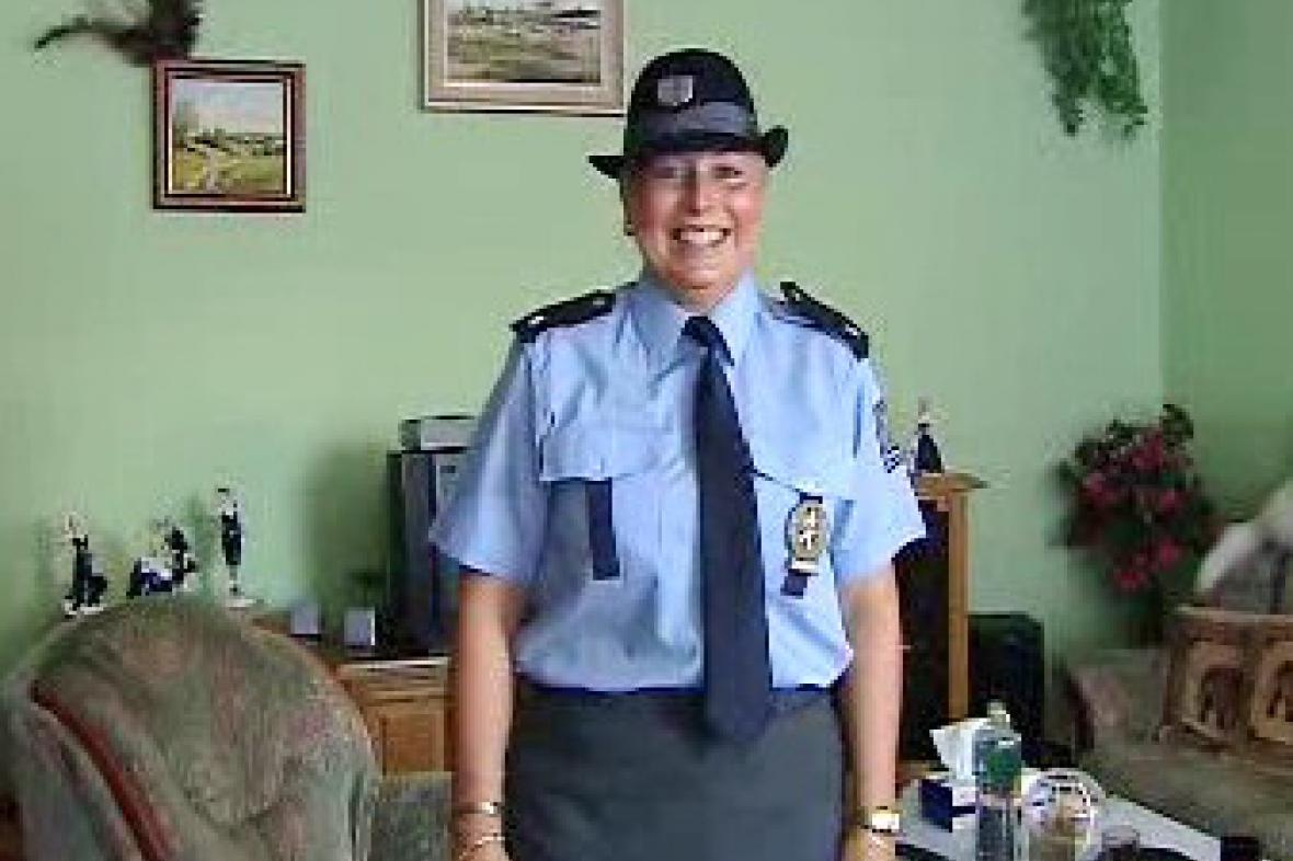 Monika Horová se chystá na službu do Chorvatska