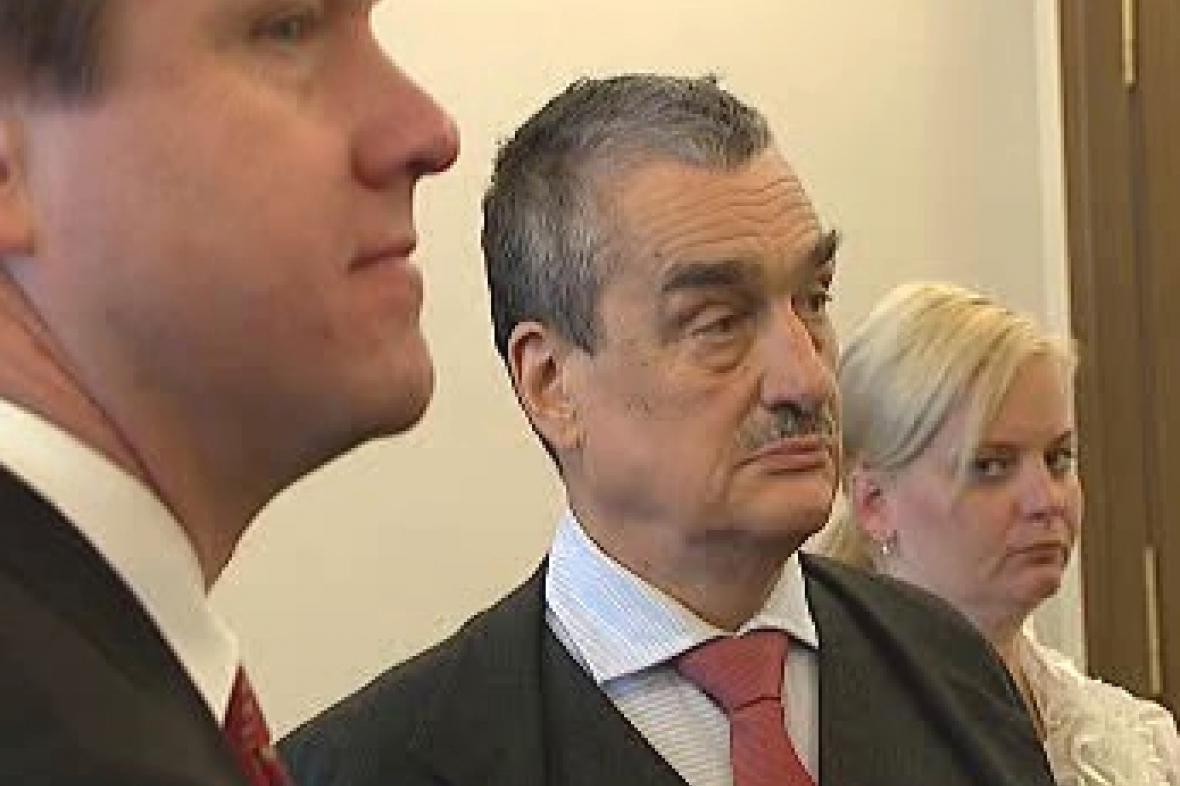 Martin Bursík a Karel Schwarzenberg