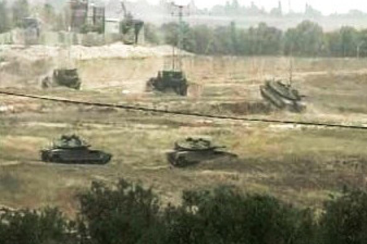 Izraelské tanky