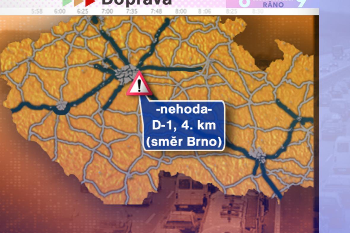Dopravní situace v pondělí 7. 7. 2008
