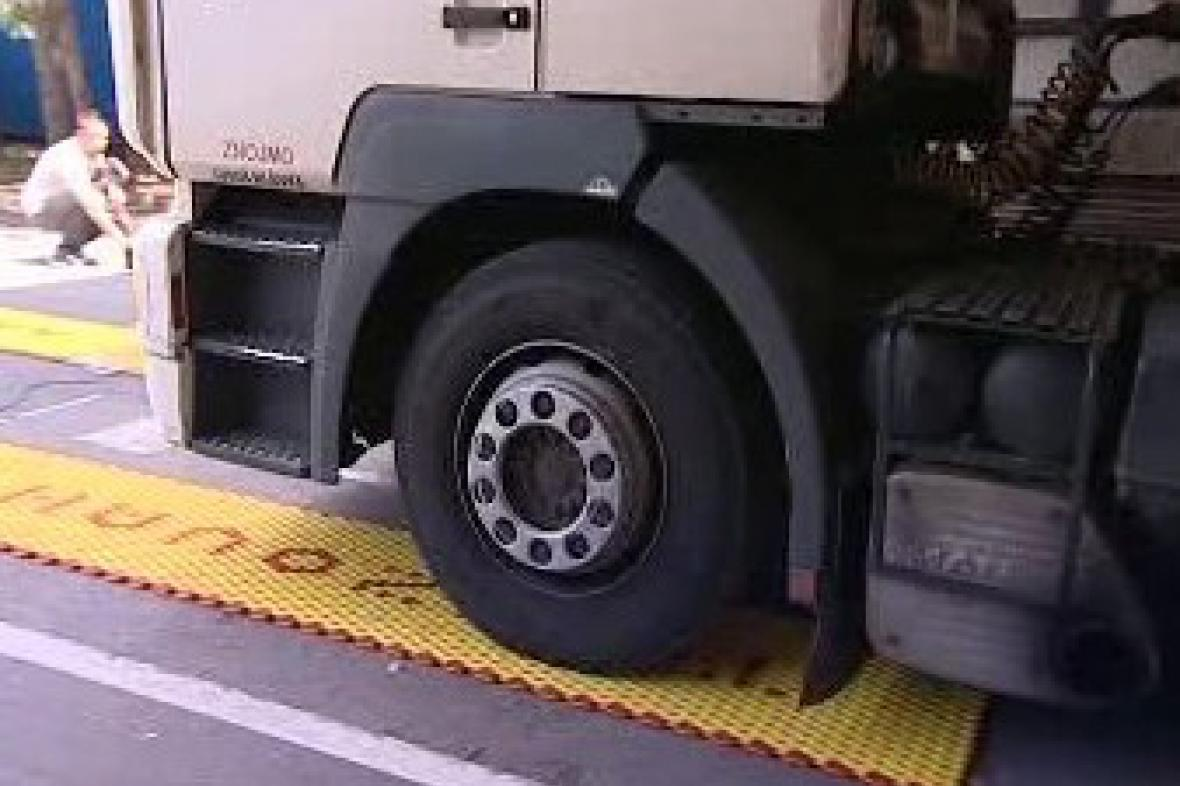 Vážení kamionu