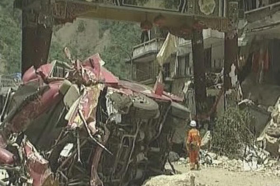 Čínské zemětřesení