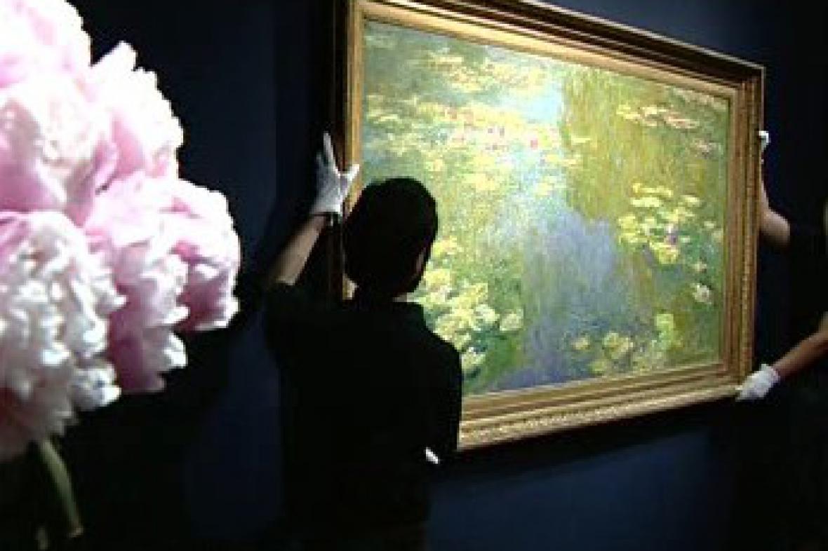 Dražba Monetova obrazu