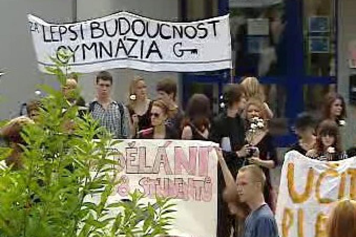 Protest v Čelákovicích