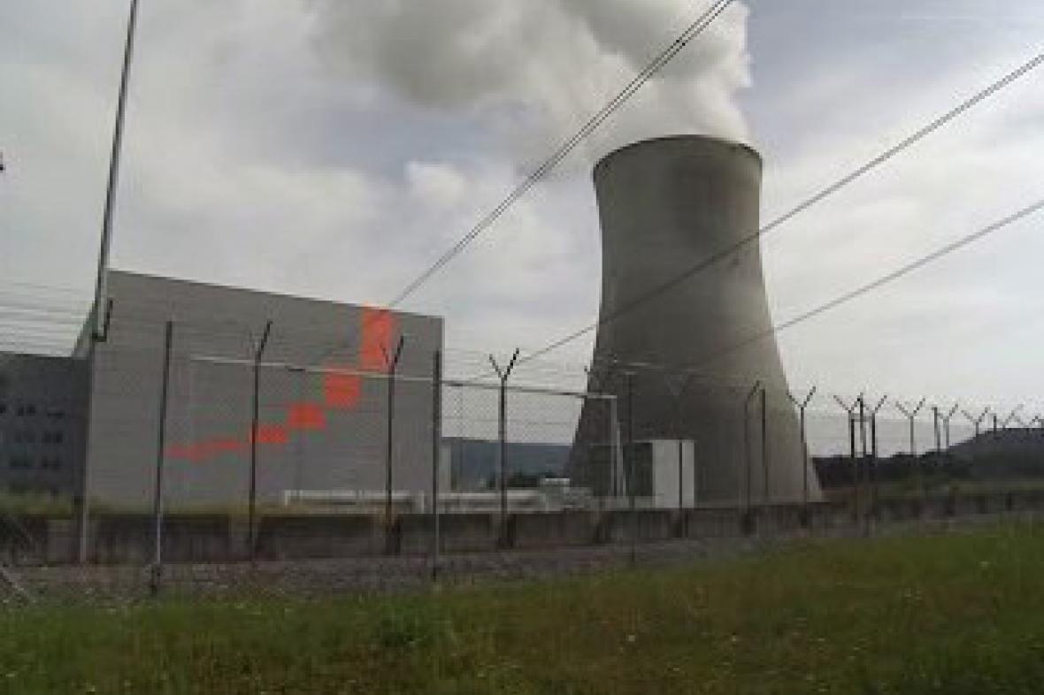 Švýcarská jaderná elektrárna