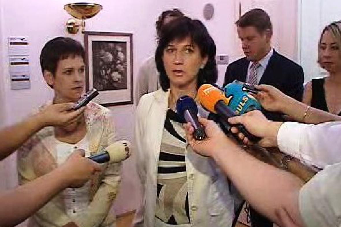 Věra Jakubková a Olga Zubová