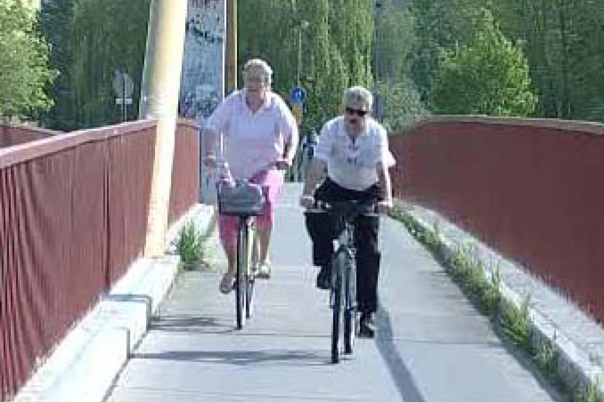 Most v Českých Budějovicích