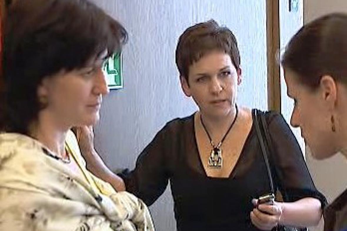 Olga Zubová a Věra Jakubková