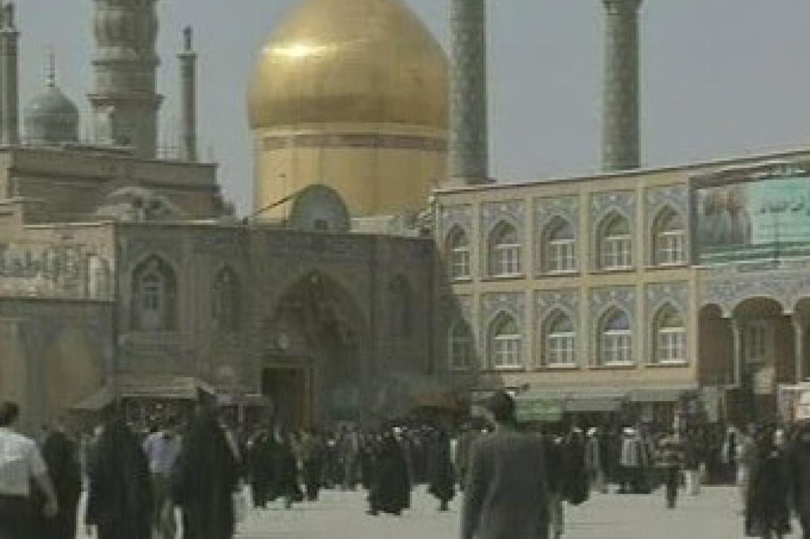 Mešita v Íránu