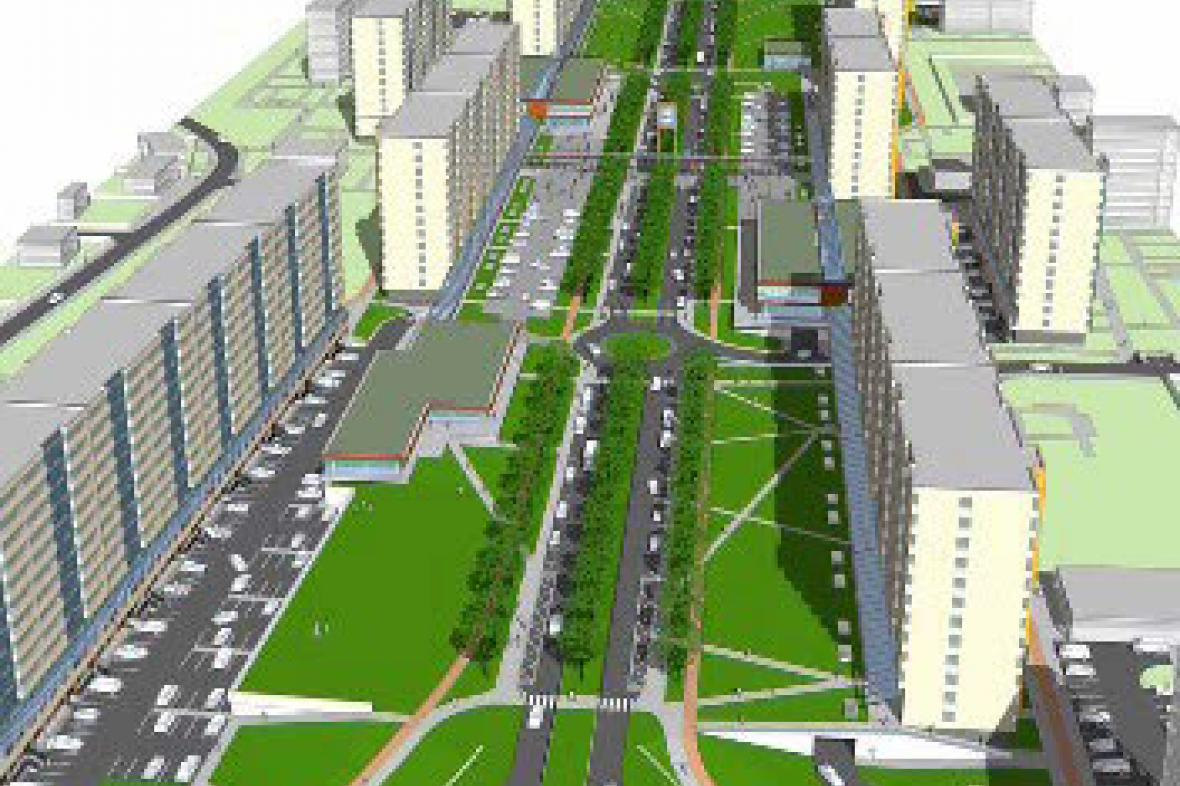 Vítězný návrh modernizace
