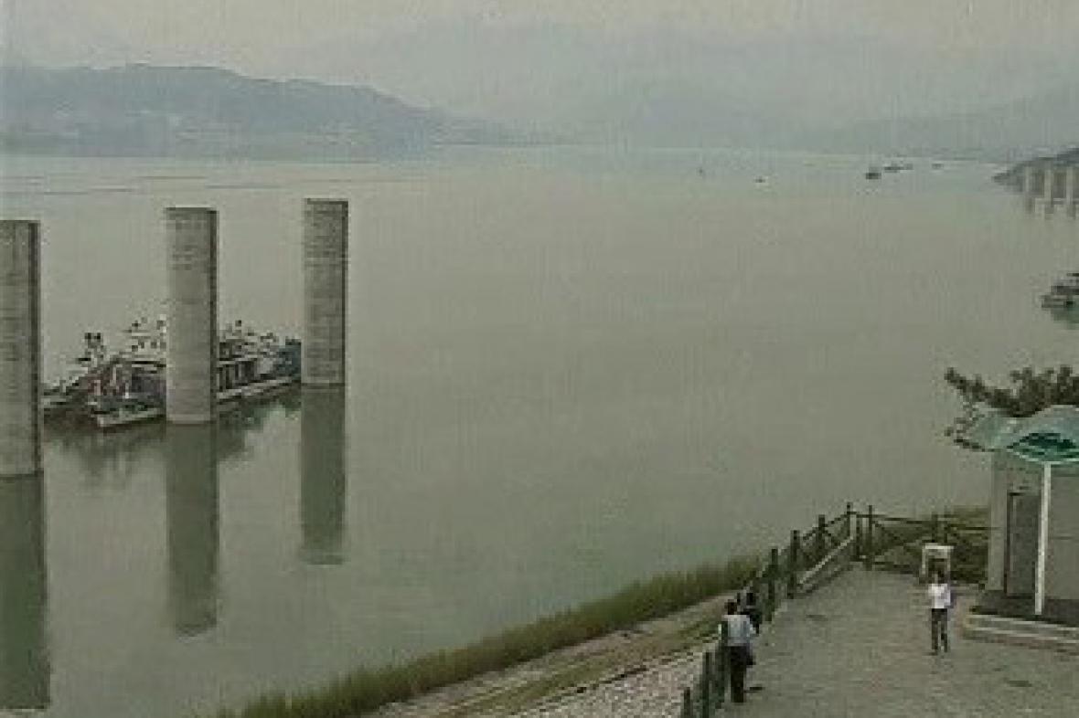 Nechtěné čínské jezero