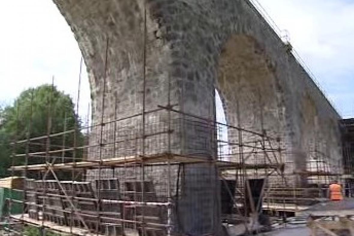 Rekonstrukce železničního mostu
