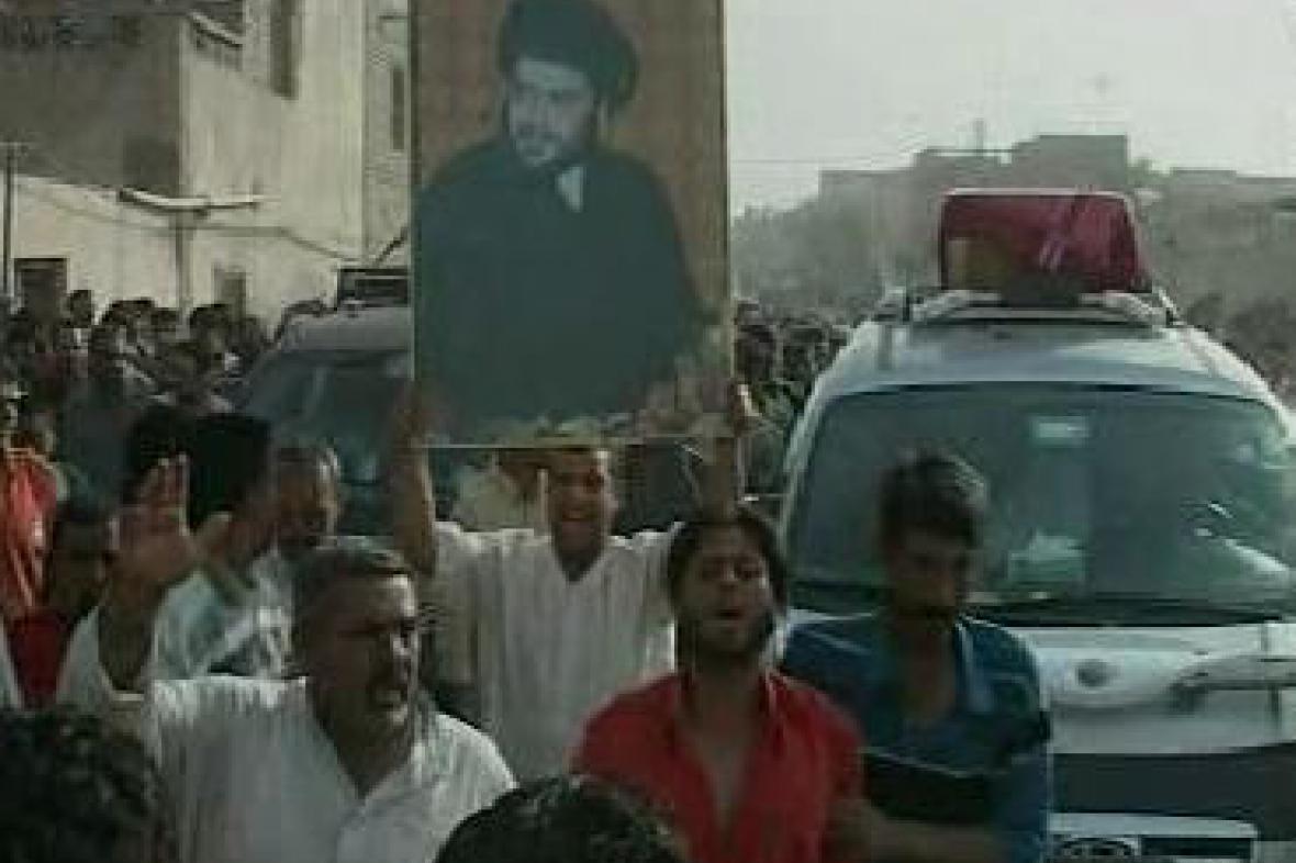 Protesty ve čtvrti Sadr, Bagdád